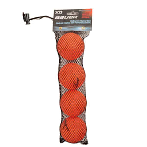 Bauer Xtreme Density Ball Orange - 4 Pack