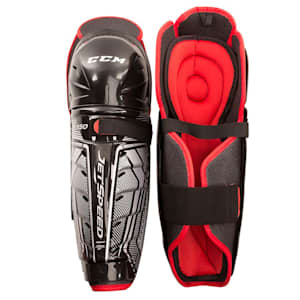 CCM JetSpeed FT350 Hockey Shin Guards - Junior