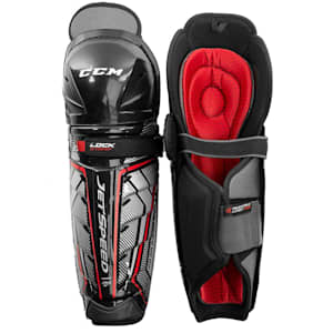 CCM JetSpeed FT370 Hockey Shin Guards - Junior