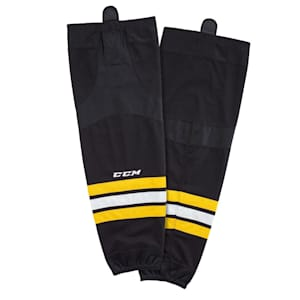 CCM SX8000 Game Sock - Boston Bruins - Intermediate
