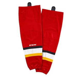 CCM SX8000 Game Sock - Calgary Flames - Intermediate