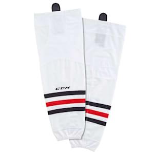 CCM SX8000 Game Sock - Chicago Blackhawks - Junior
