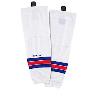 CCM SX8000 Game Sock - New York Rangers - Senior