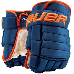 Bauer 4-Roll Team Pro Hockey Gloves - Junior