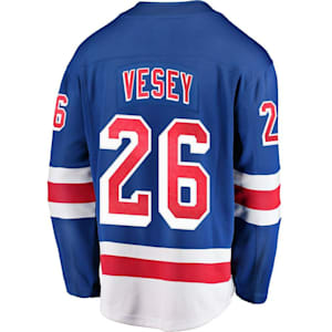 Fanatics New York Rangers Replica Jersey - Jimmy Vesey - Adult