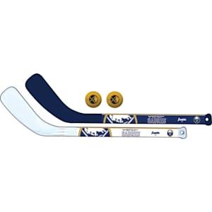 Franklin NHL Mini Hockey Stick Set - Buffalo Sabres