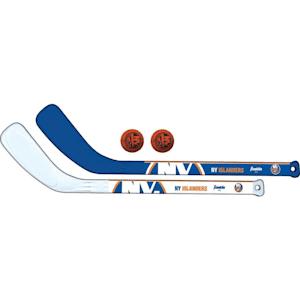 Franklin NHL Mini Hockey Stick Set - New York Islanders