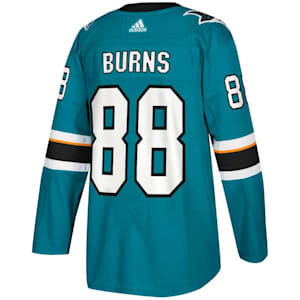 Adidas Brent Burns San Jose Sharks Authentic NHL Jersey - Home - Adult