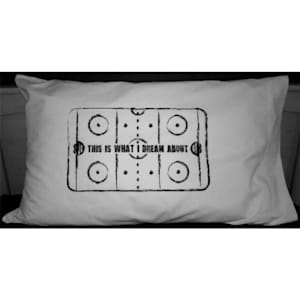 Painted Pastimes Hockey Pillow Case - Rink