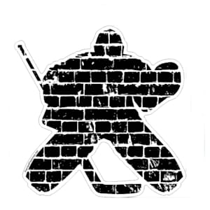 Painted Pastimes Car Decal- Goalie