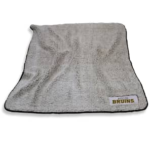 Logo Brands Boston Bruins Frosty Fleece Blanket