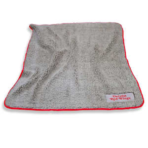 Logo Brands Detroit Red Wings Frosty Fleece Blanket