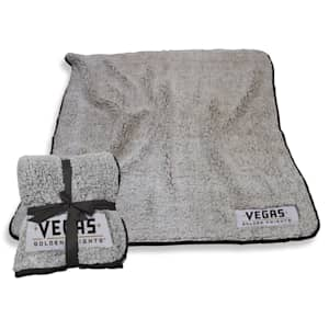 Logo Brands Las Vegas Golden Knights Frosty Fleece Blanket