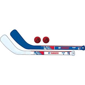 Franklin NHL Mini Hockey Stick Set - New York Rangers