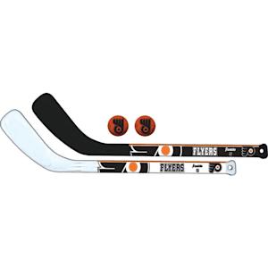 Franklin NHL Mini Hockey Stick Set - Philadelphia Flyers