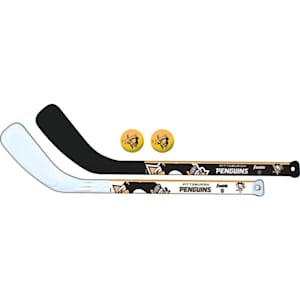 Franklin NHL Mini Hockey Stick Set - Pittsburgh Penguins