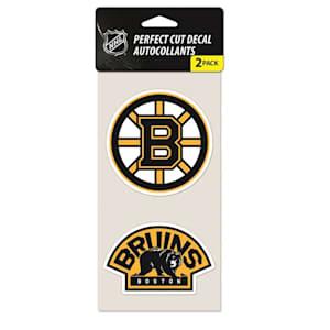 Wincraft Perfect Cut Decal 2PK - Boston Bruins