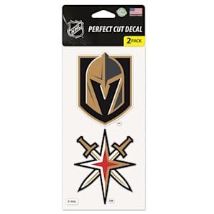 Wincraft Perfect Cut Decal 2PK - Vegas Golden Knights