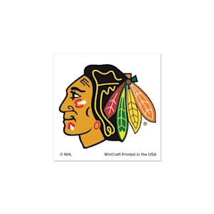 Wincraft Chicago Blackhawks Tattoo - 4 Pack