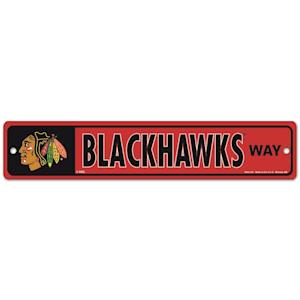Wincraft Chicago Blackhawks Street Sign