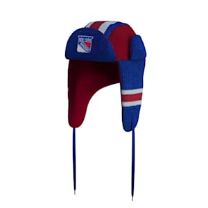 Hockey Sockey New York Rangers Reversible Trapper Hat - Adult