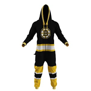 Hockey Sockey Boston Bruins Onesie - Adult