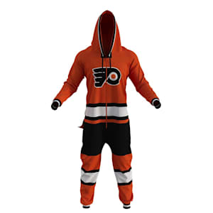 Hockey Sockey Philadelphia Flyers Onesie - Adult