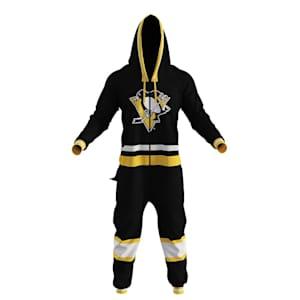 Hockey Sockey Pittsburgh Penguins Onesie - Adult