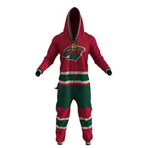 Hockey Sockey Minnesota Wild Onesie - Adult