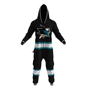 Hockey Sockey San Jose Sharks Onesie - Adult