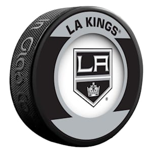 InGlasco NHL Retro Hockey Puck - Los Angeles Kings