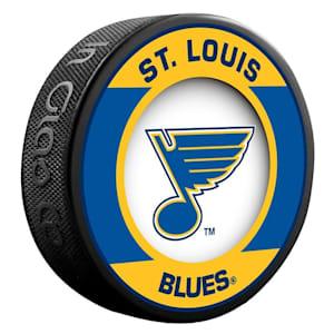 InGlasco NHL Retro Hockey Puck - St. Louis Blues