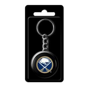 InGlasco NHL Puck Keychain - Buffalo Sabres