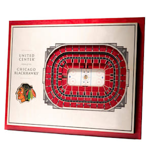 YouTheFan 5 Layer 3D Wall Art - Chicago Blackhawks