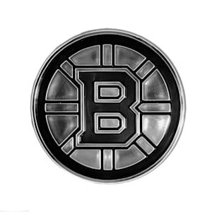 Chrome Auto Emblem - Boston Bruins