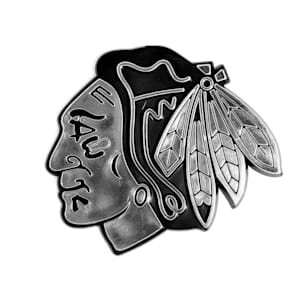 Chrome Auto Emblem - Chicago Blackhawks