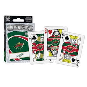 MasterPieces NHL Playing Cards - Minnesota Wild