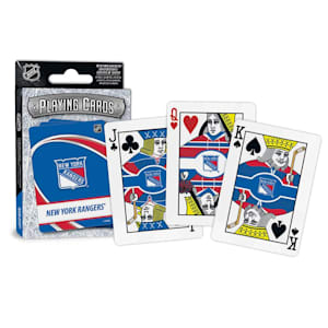 MasterPieces NHL Playing Cards - New York Rangers