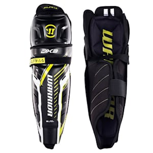 Warrior Alpha DX3 Hockey Shin Guards - Junior
