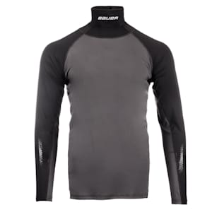 Bauer S19 Long Sleeve Neck Protector Top - Youth