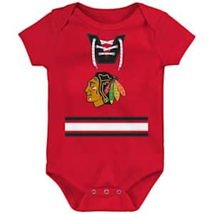 Adidas Hockey Pro Onesie Chicago Blackhawks - Newborn