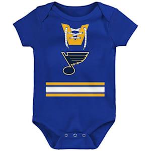 Adidas Hockey Pro Onesie St. Louis Blues - Newborn