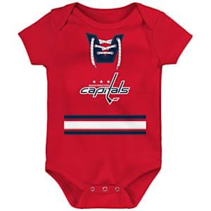 Adidas Hockey Pro Onesie Washington Capitals - Newborn