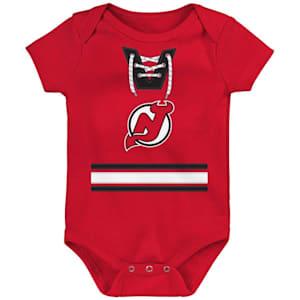 Adidas Hockey Pro Onesie New Jersey Devils - Newborn