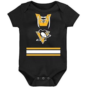 Adidas Hockey Pro Onesie Pittsburgh Penguins - Newborn