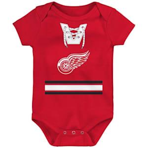Adidas Hockey Pro Onesie Detroit Red Wings - Newborn