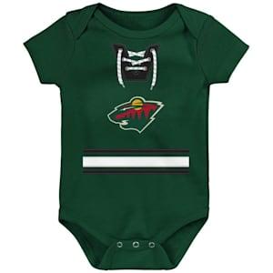 Adidas Hockey Pro Onesie Minnesota Wild - Newborn