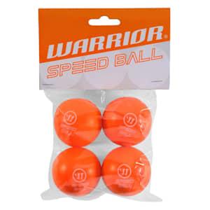 Warrior Mini Hockey Speed Ball 4PK