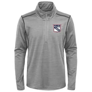 Adidas NY Rangers Back to the Arena 1/4 Zip - Youth