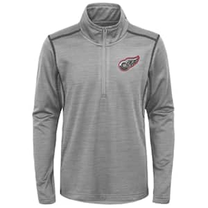Adidas Detroit Red Wings Back to the Arena 1/4 Zip - Youth